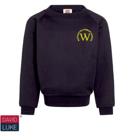 Watchlytes Primary Navy Eco Sweatshirt